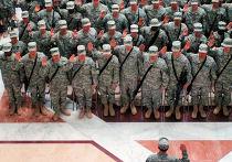 армия сша построение