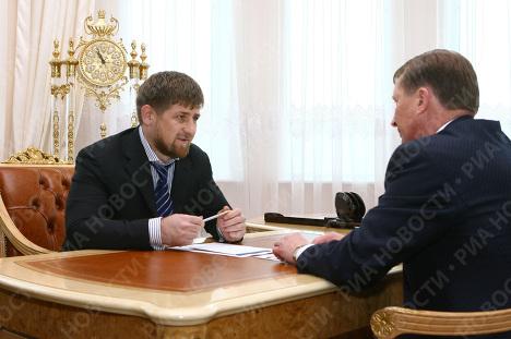 С.Иванов, Р.Кадыров
