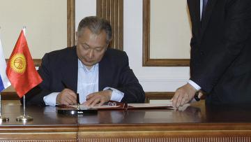 Президент Киргизии К.Бакиев