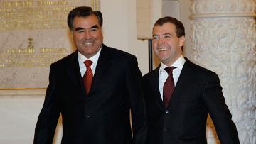 Государственный визит в Россию президента Таджикистана