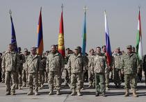 Д.Медведев на военных учениях стран-участниц ОДКБ