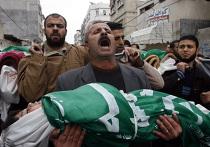 Пострадавшие в секторе Газа от авиаударов израильских ВВС