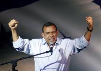 Пепе Лобо произносит речь после уверенной победы на президенских выборах в Гондурасе