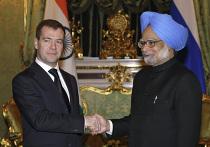 Официальный визит в Россию премьер-министра Индии М.Сингха