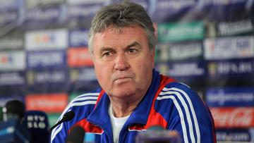 Главный тренер сборной России по футболу Гус Хиддинк