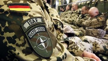 Немецкий солдат в Афганистане