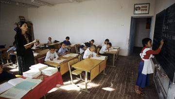 В сельской школе