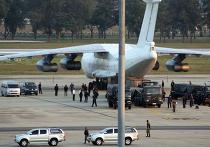 Грузовой самолет Ил-76, задержанный в Бангкоке с оружием на борту