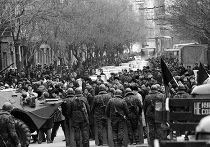 На улицах Баку в январе 1990 года