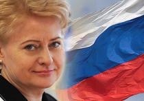 Грибаускайте пригласит Медведева на празднование 20-летия независимости страны
