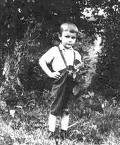 Виктор Янукович в детстве. Архивное фото.