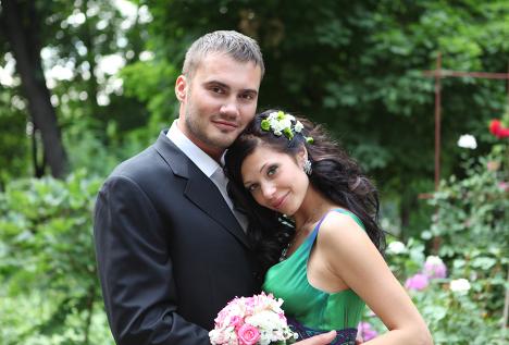 Сын лидера Партии регионов Виктор Янукович-младший женился