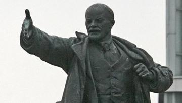 памятник ленин