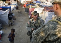 Американские военные на гаити