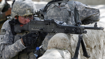 американский солдат оружие винтовка афганистан