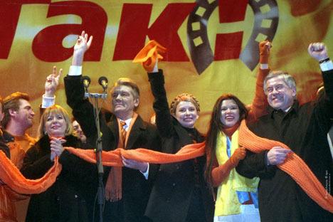 5 лет президента Ющенко