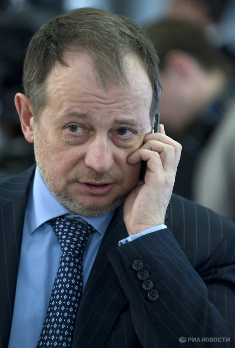 Председатель совета директоров НЛМК Владимир Лисин