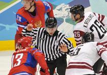 Олимпиада - 2010. Хоккей. Мужчины. Матч Россия - Латвия