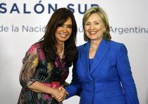 Визит Хилари Клинтон в Аргентину