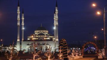 Центральная мечеть имени Ахмата Кадырова