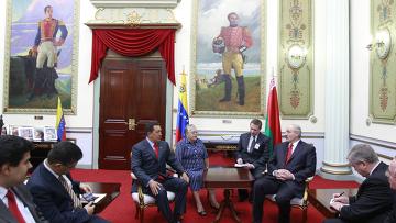 Александр Лукашенко прилетел с визитом в Венесуэлу