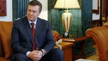Президент Украины В.Янукович встретился с Б.Ступкой в Киеве