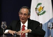 президент Гватемалы Алваро Колом (Álvaro Colom)