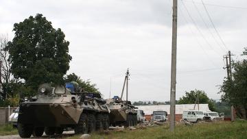 Контртеррористическая операция в Назрани