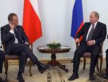 Беседа Владимира Путина с Дональдом Туском
