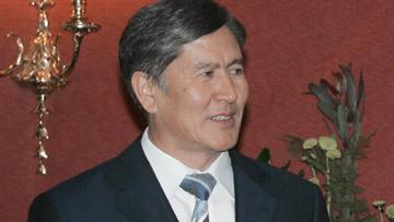 вице-премьер временного правительства Алмазбек Атамбаев