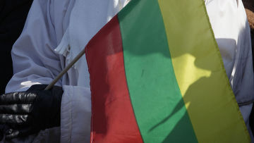 марш в честь годовщины независимости Литвы