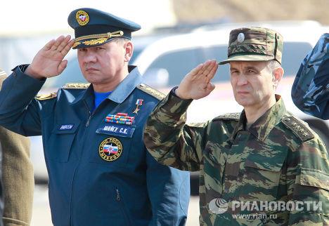 Сергей Шойгу и Рашид Нургалиев