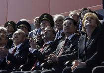 Д.Медведев на параде по случаю 65-летия Победы в ВОВ