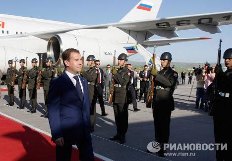 Официальный визит Дмитрий Медведева в Турцию