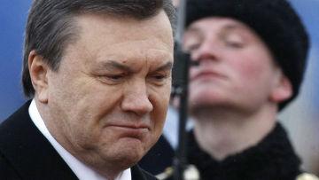 Президент Украины Виктор Янукович прибыл в Москву в официальным визитом