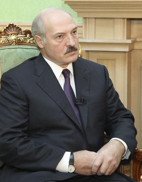 Президент Белоруссии Александр Лукашенко дал интервью Reuters