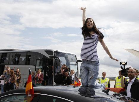 "Певица Лена из Германии победила на ""Евровидении-2010"""