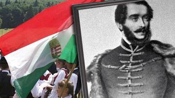Вождь национально-освободительного движения в революции 1845 года в Венгрии Лайош Кошут