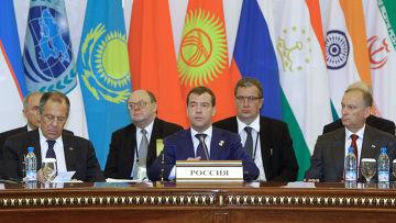 Саммит Шанхайской организации сотрудничества (ШОС) в Ташкенте