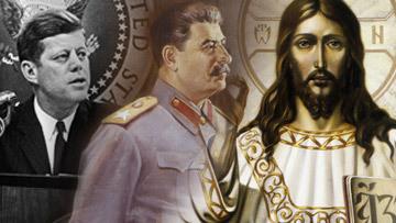 Сталин, Кеннеди, Иисус