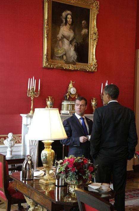 Рабочий визит Дмитрия Медведева в США. 3-й день