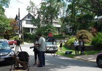 Недалеко от дома, где жили арестованные по обвинению в шпионаже журналистка Вики Пелаез и профессор Хуана Лазардо
