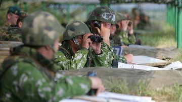 Тактические учения 74-й гвардейской мотострелковой бригады СибВО