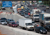 Затруднено движение на Ленинградском шоссе
