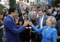 Клинтон посетила Грузию