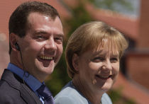 Рабочий визит Дмитрия Медведева в Германию. День второй