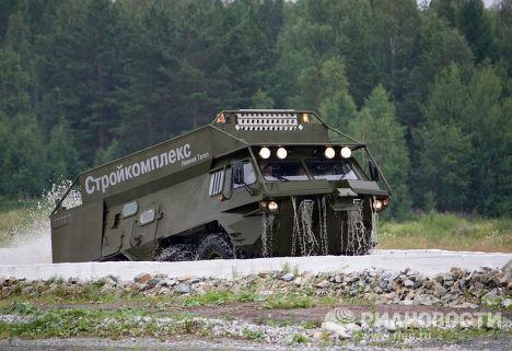 Вездеходный автобус ГАЗ-59037