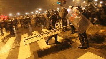 Белград. Беспорядки