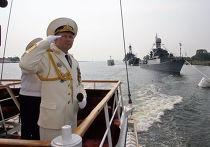 Праздничные мероприятия, посвященные Дню ВМФ РФ в Балтийске