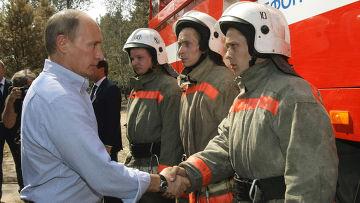 Поездка Владимира Путина в Воронеж